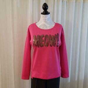 Juicy Couture Meow sweatshirt